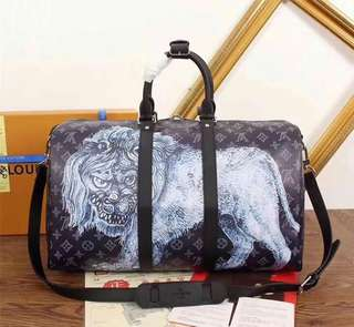 Louis Vuitton Travelling Bag with print