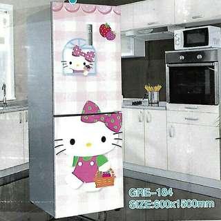 Sticker Kulkas 2 pintu uk 60cm X 150cm (sisi depan)