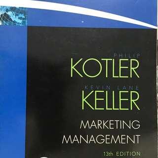 Marketing Management, 13th ed.  Kotler and Keller  Pearson Prentice-Hall 2009