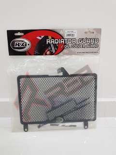 HONDA CB400X Radiator Guard ( R&G) Authentic (Special offer)