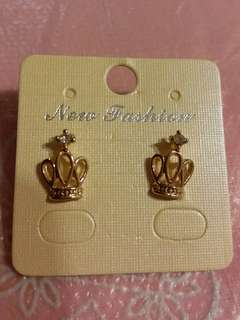 Earrings 耳環  皇冠 Crown👑👑