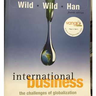 International Business, the Challenges of Globalization 4th ed  Wild, Wild, and Han  Pearson 2007