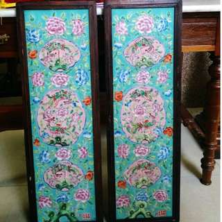 Peranakan wall panel