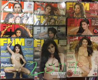 FHM  2009-2014 issues