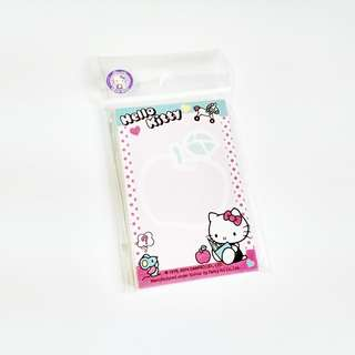 hello kitty & flat mini memo sheets (#5)