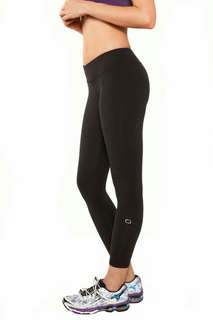 Nualime Yoga Pants black size S moisture working