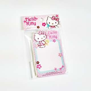 hello kitty & tiny chum mini memo sheets (#7)