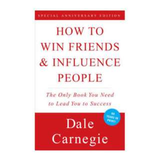HOW TO WIN FRIENDS AND INFLUENCE PEOPLE by Dale Carnegie PDF