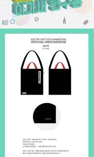 [LOOKING FOR] GOT7 4TH FANMEETING ECO/TOTE BAG