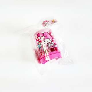my melody & flat double pencil sharpener (#8)