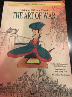 Chinese Military Classic THE ART OF WAR (by Sun Zi; succinctly written in 13 chapters) in comics form; fun and entertaining to read