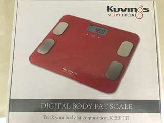 Brand New Kuvings Digital Body Fat Scale