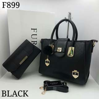 Furla 2 in 1 Black Bag