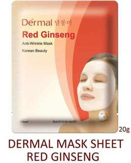 Dermal Face Mask(Authentic)