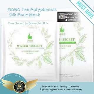 Wowo water secret facial mask , face mask , moisturising