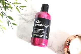 INSTOCK LUSH THE COMFORTER SHOWER CREAM 100G / 100ML • TRAVEL-FRIENDLY SIZE • OOS EVERYWHERE