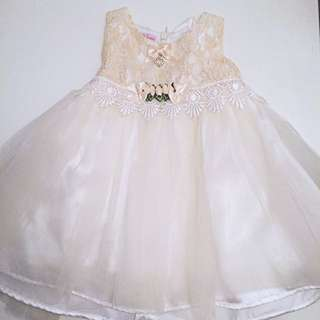Lovely Lace Baby Gown