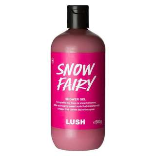 INSTOCK LUSH SNOW FAIRY SHOWER GEL 100G / 250G • TRAVEL-FRIENDLY SIZE AVAILABLE • CHRISTMAS LIMITED EDITION
