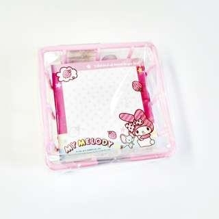 my melody memo pad in tray (#23)