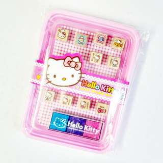 hello kitty stamp pad set (#24)