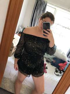 Starry playsuit