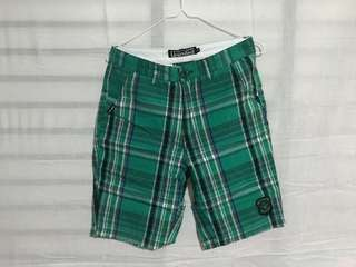 🔥 [SALE] GREEN CHECKERED SHORTS