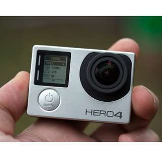 GO PRO HERO 4 UNIT ONLY