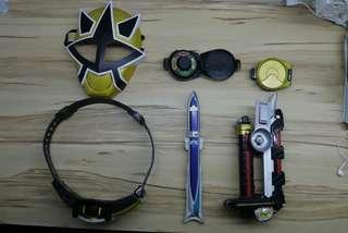 Power Rangers Samurai Full Set
