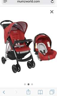 Graco Ultima Chilli Red Travel System