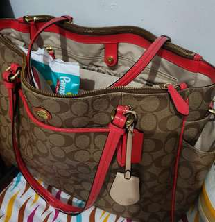 Auth! Coach Diaper Bag