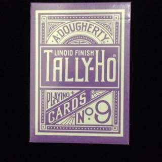 tally ho purple - circle back