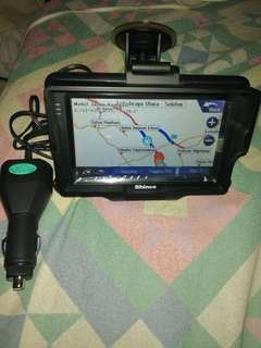 Shinco gps navigation