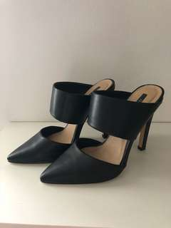 Forever 21 Heeled Mules