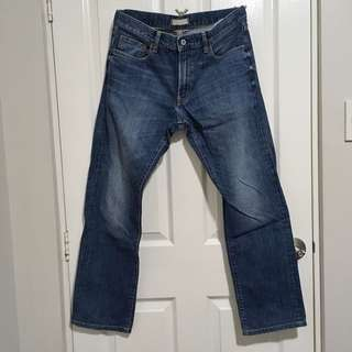 Uniqlo Selvedge Jeans Regular Fit Mid-Rise