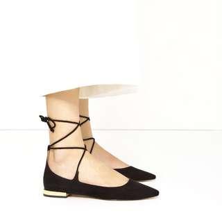 Zara Pretty Balerina Flats