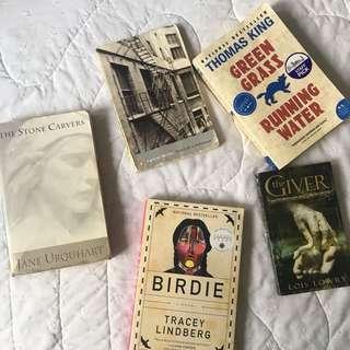 School Reads (Books/Novels)