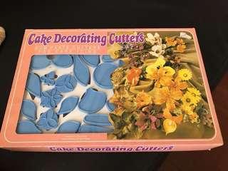 Cake Decorating Cutters 75 pcs