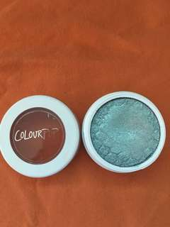 Colour Pop super shock eyeshadow shade SUGAR