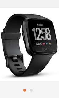 Brand new black / silver colour Fitbit Versa