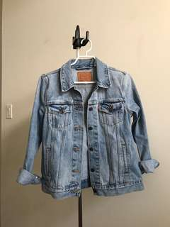 Levi's Boyfriend Jacket in Size Medium
