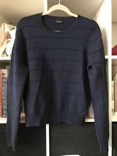 CLUB MONACO / navy sweater