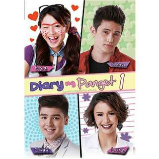 SALE! BUNDLE 1-4 DIARY NG PANGET BOOKS (MOVIE COVER) PREORDER