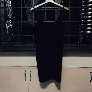 SALE❤️Factorie black velvet dress
