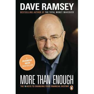 More than Enough: The Ten Keys to Changing Your Financial Destiny by Dave Ramsey - EBOOK