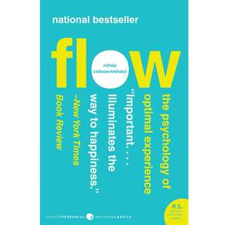 Flow: The Psychology of Optimal Experience by Mihaly Csikszentmihalyi - EBOOK
