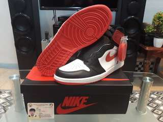 Air Jordan 1 Retro High 'Track Red'Size 12