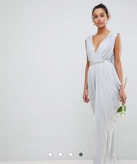 Pastel maxi dress - perfect for summer wedding!