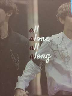 EXO CHANBAEK ALL ALONE ALL ALONG DVD BY PUPPYSTORE
