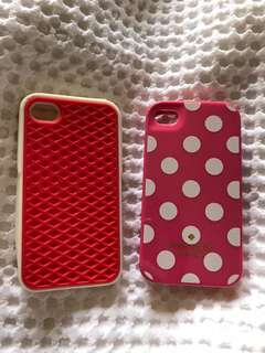 Vans and Kate spade iPhone 4s case