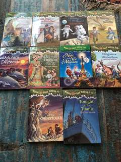 Magic tree house set of 10 books